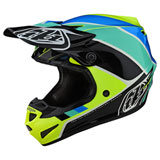 Troy Lee Youth SE4 Beta MIPS Helmet Yellow/Black
