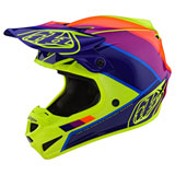 Troy Lee SE4 Beta MIPS Helmet 2019 Yellow/Purple
