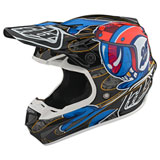 Troy Lee SE4 Eyeball Carbon MIPS Helmet Black/Red