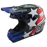 Troy Lee SE4 LTD Liberty Carbon MIPS Helmet Red/White/Blue