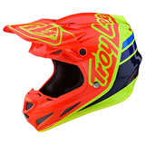 Troy Lee SE4 Silhouette Composite MIPS Helmet Orange/Yellow