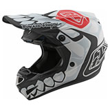 Troy Lee SE4 Skully MIPS Helmet White