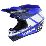 Troy Lee SE4 Yamaha Composite MIPS Helmet Black