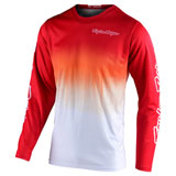 Troy Lee GP Stain'd Jersey Red/White