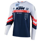 Troy Lee SE Ultra Factory Team Jersey White/Navy