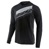 Troy Lee Polaris RZR Long Sleeve T-Shirt Charcoal Heather