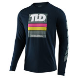 Troy Lee Pregame Long Sleeve T-Shirt Navy
