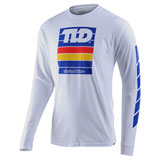 Troy Lee Pregame Long Sleeve T-Shirt White