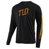 Troy Lee Trackside Long Sleeve T-Shirt Black