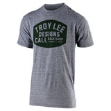 Troy Lee Blockworks T-Shirt Vintage Grey Snow