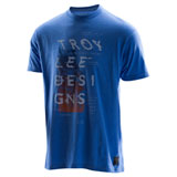 Troy Lee Cosmic Dawn T-Shirt Royal Heather