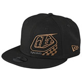 Troy Lee Youth Precision 2.0 Checkers Snapback Hat Black