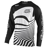 Troy Lee Youth GP Air Drift Jersey Black/White