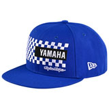 Troy Lee Yamaha Checkers Snapback Hat Blue
