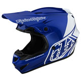Troy Lee GP Block Helmet Blue/White