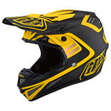 Troy Lee SE4 Flash Carbon MIPS Helmet Black/Yellow
