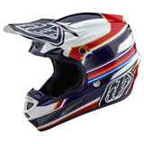 Troy Lee SE4 Speed Composite MIPS Helmet White/Red