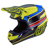 Troy Lee SE4 Speed Composite MIPS Helmet Yellow/Grey