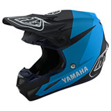 Troy Lee SE4 Yamaha Composite MIPS Helmet Navy/Blue