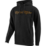 Troy Lee Signature Hooded Sweatshirt 2019 Charcoal Heather