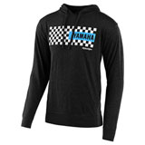 Troy Lee Yamaha Checkers Hooded Sweatshirt Charcoal Heather