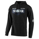 Troy Lee Yamaha Hooded Sweatshirt Charcoal Heather