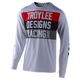 Troy Lee GP Air Continental Jersey White