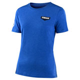 Troy Lee Women's Yamaha T-Shirt True Royal