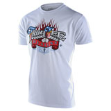 Troy Lee Americana T-Shirt White