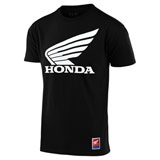 Troy Lee Honda Wing T-Shirt Black