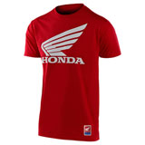 Troy Lee Honda Wing T-Shirt Red
