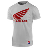 Troy Lee Honda Wing T-Shirt White