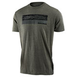 Troy Lee Racing Block Fade T-Shirt Sage Black Heather
