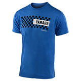 Troy Lee Yamaha Checkers T-Shirt Royal