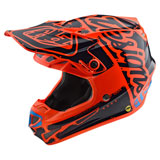 Troy Lee Youth SE4 Factory MIPS Helmet Orange