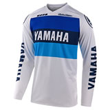 Troy Lee Youth GP Yamaha Jersey White