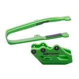 T.M. Designworks GP MX Slide and Glide Kit Green
