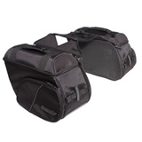 Tourmaster Nylon Cruiser III Slant Motorcycle Saddlebag