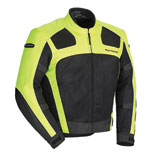Tourmaster Draft Air Series 3 Motorcycle Jacket Hi-Viz Yellow/Black