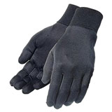 Tourmaster Silk Motorcycle Glove Liners Black