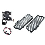 Trail Tech Digital Fan and Radiator Guard Kit