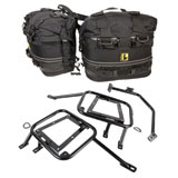 Tusk Pannier Racks with Wolfman Rocky Mountain Saddle Bags 2016