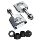 Tusk Universal Rubber Mounted Handlebar Clamp Kit with Polyurethane Bushings