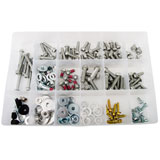 Tusk 178 Piece European Bolt Kit w/ Aluminum Bushings