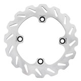 Tusk Stainless Steel Typhoon Brake Rotor, Rear