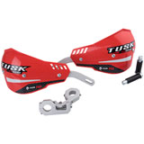 Tusk D-Flex Pro Handguards Red