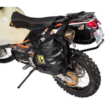 Tusk Pannier Racks with Wolfman Expedition Dry Saddle Bags