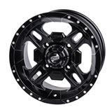 Tusk Beartooth Wheel Matte Black