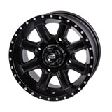 Tusk Cascade Wheel Matte Black