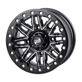 Tusk Nebo Beadlock Wheel Machined/Black
